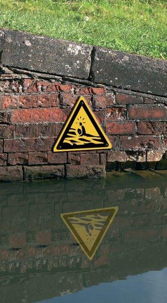 Panneau de danger Risque de noyade - Seton