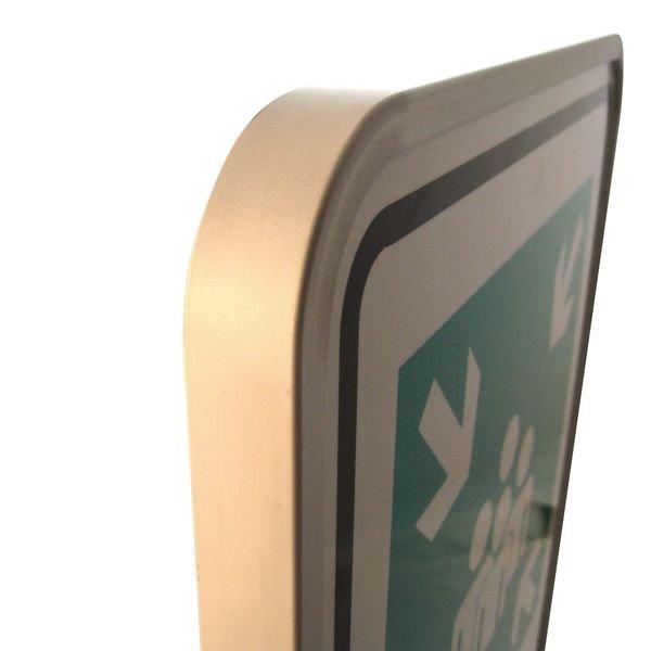 Panneaux en aluminium Point de rassemblement avec texte - Panneaux et Pictogrammes Evacuation