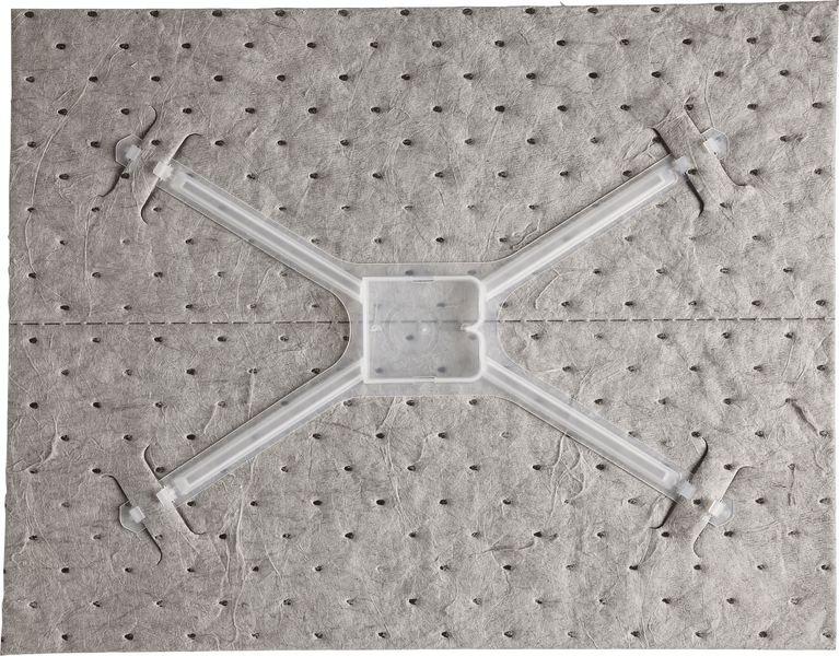 Recharge de feuilles universelles avec adaptateur pour kit de démarrage absorbant - Seton