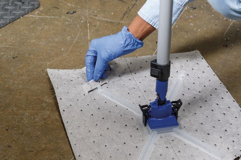 Recharge de feuilles universelles avec adaptateur pour kit de démarrage absorbant - Absorbants universels