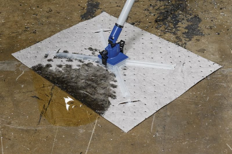 Recharge de feuilles universelles avec adaptateur pour kit de démarrage absorbant - Absorbants industriels