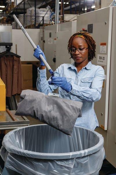 Coussin absorbant universel pour kit de démarrage absorbant - Absorbants industriels