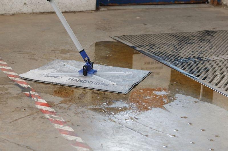 Feuilles absorbantes universelles pour kit de démarrage absorbant - Feuilles absorbantes (antipollution) Liquides industriels