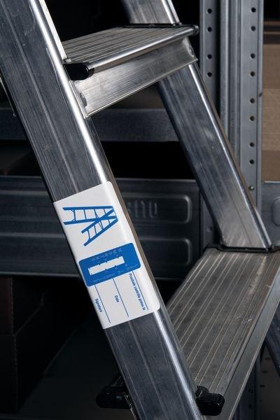 Indicateurs de temps - Echelles et pieds d'échelles - Etiquettes d'inspection milieux secs