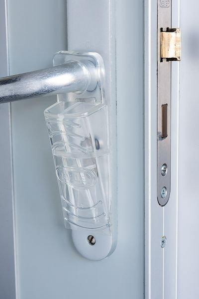 Cale de porte mobile en caoutchouc - Bloque porte, bloque fenêtre et butée de chaise