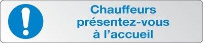 Panneau d'accueil personnalisable - Panneaux et pictogrammes