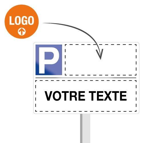 Panneau place de parking réservée personnalisable - Seton