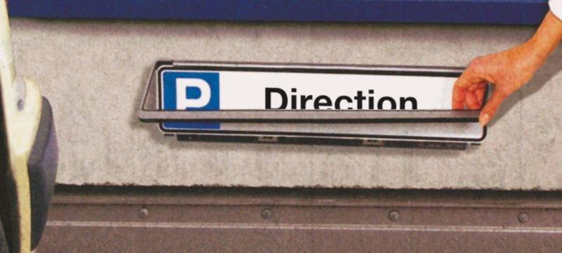 Panneau places de parking - Direction - Panneaux parking réservé