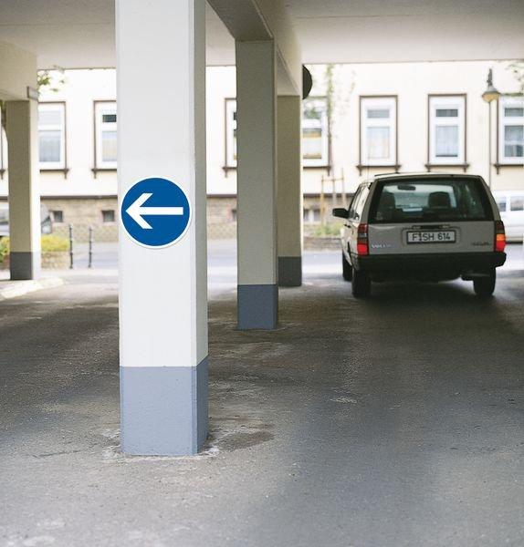 Panneau PVC - Flèche directionnelle - Seton