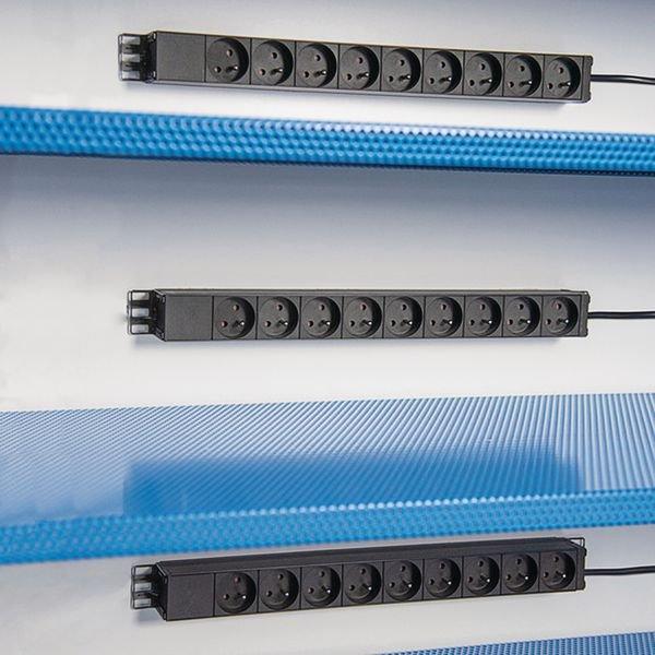 Rack de 9 prises pour armoire de sécurité pour batteries lithium