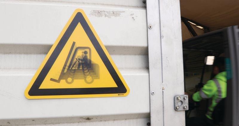 Autocollant rigide animé SETON MOTION® Danger Electricité - Seton