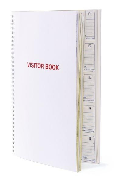 Kit de 300 réassorts pour registre des visiteurs