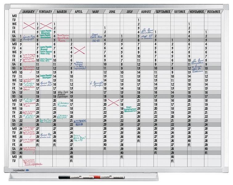Planning annuel grand format - Seton