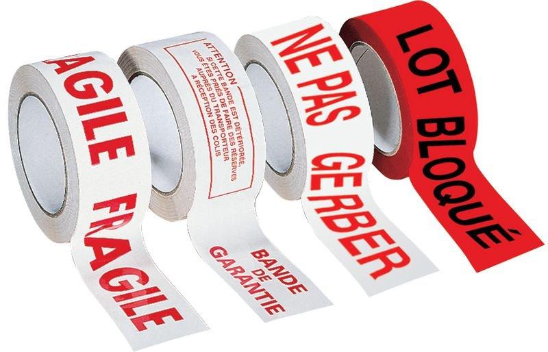 Ruban d'emballage avec texte A détruire - Emballage et matériel d'expédition de colis
