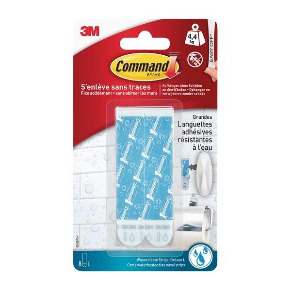 Languettes de fixation milieux humides - 3M™ Command™