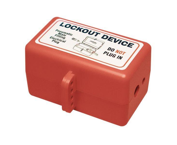 Système de condamnation électrique et pneumatique - Condamnation de fiches électriques