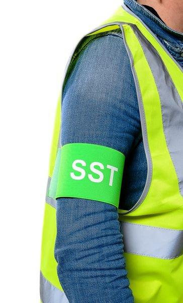 Brassards élastiques SST - Sauveteur Secouriste du travail - Seton