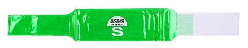 Brassard microprisme SST - Sauveteur Secouriste du Travail - Brassards de sécurité