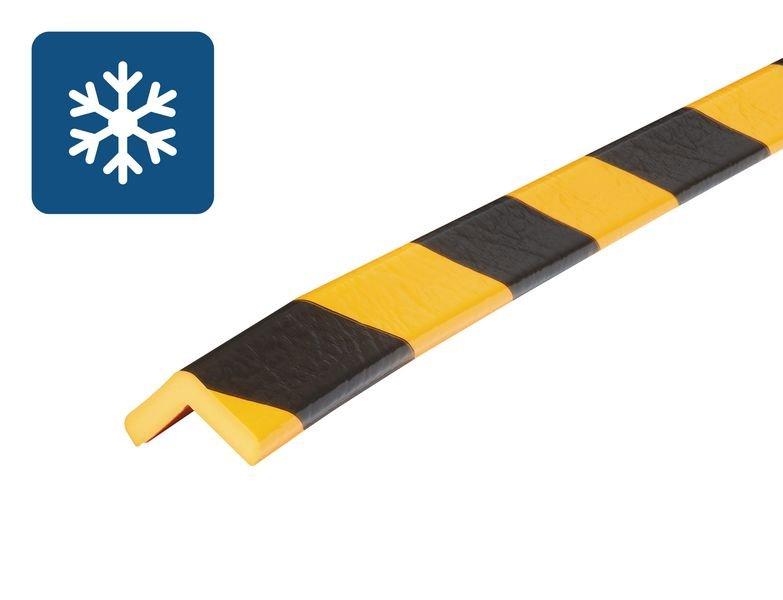 Cornière de protection en mousse Optichoc mince pour environnements froids - coin de 19 mm