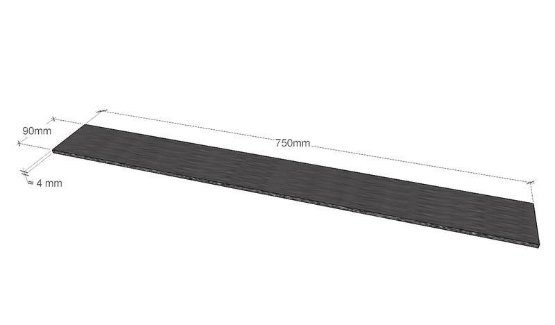 Plaque antidérapante pour surfaces en bois - Seton