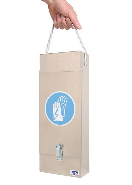Boîte en aluminium pour gants électricien - Seton