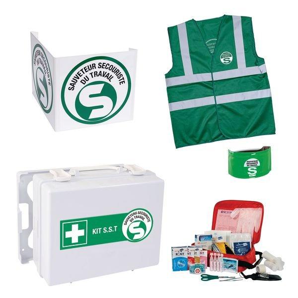 Kit EPI sauveteur secouriste du travail - Seton