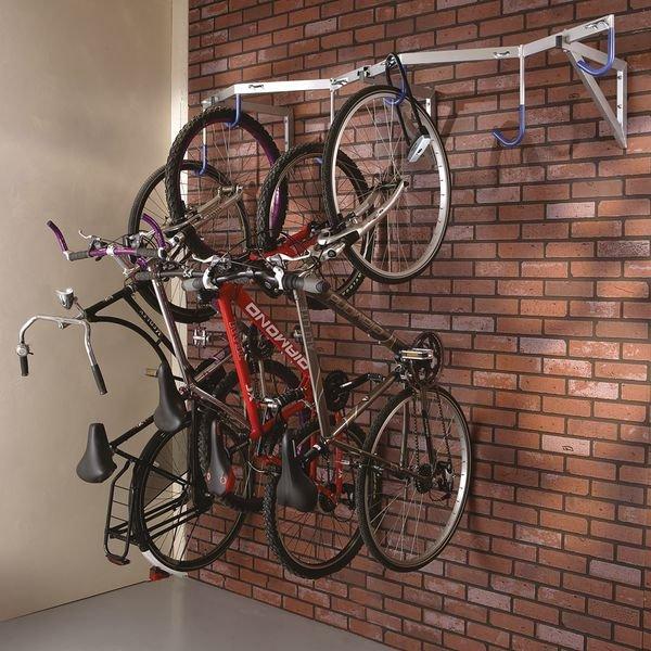 Range vélo mural 6 vélos - Range-vélos