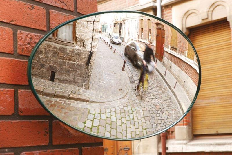 Miroir de sortie ovale Ø 56 cm - Seton