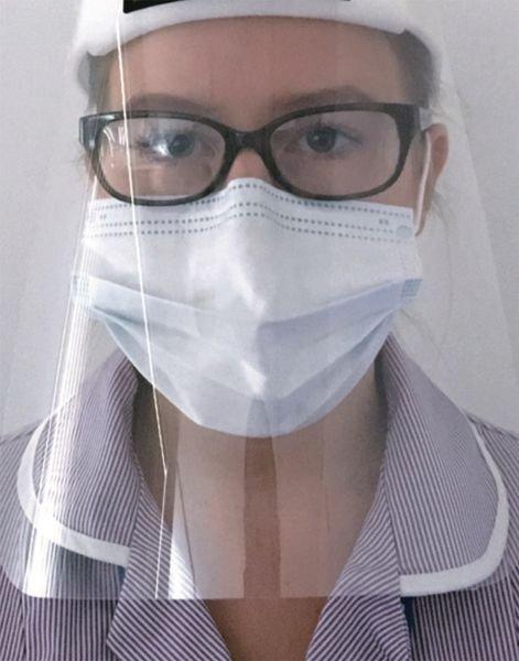 Visière de protection pour visage - Seton