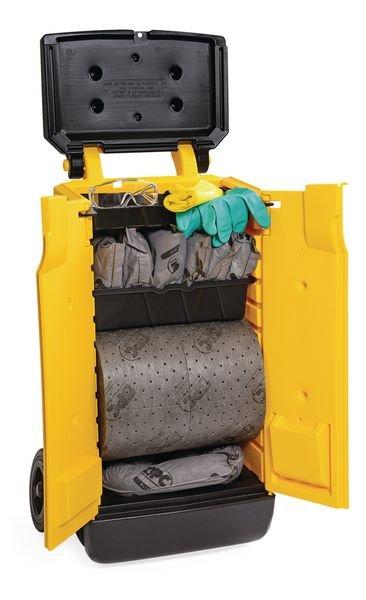 Kit antipollution pour liquides industriels en chariot