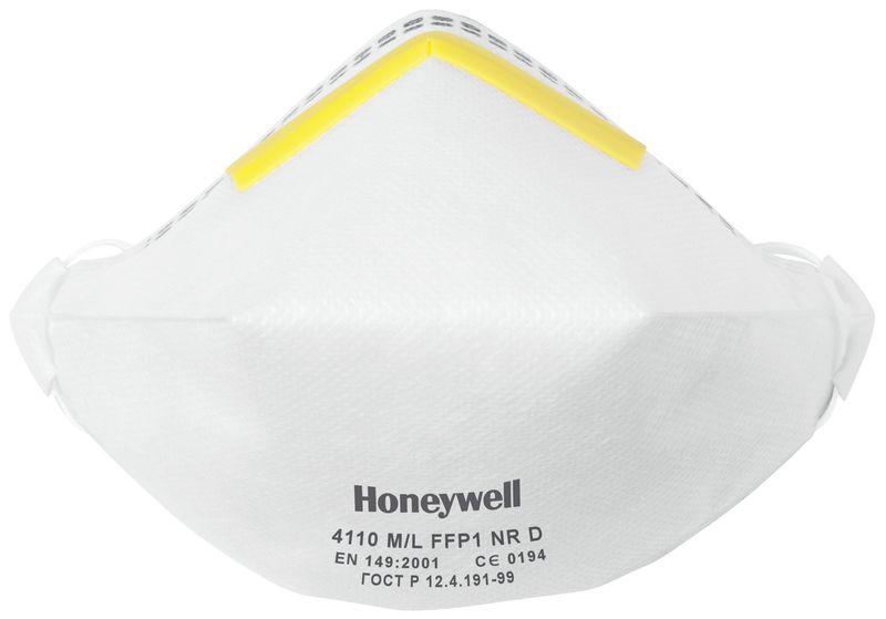 Masques anti-poussières pliables Honeywell série 4000 Premium - FFP1