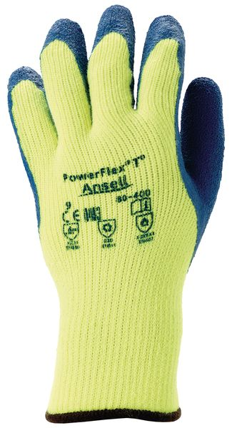 Gants de manutention anti-froid Powerflex®  80-400 Ansell