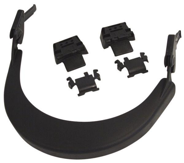 Porte-visière pour casque de protection