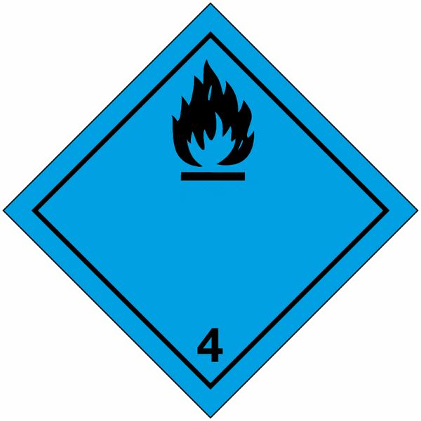 signalisation de transport international d gage du gaz inflammable au contact de l 39 eau seton fr. Black Bedroom Furniture Sets. Home Design Ideas