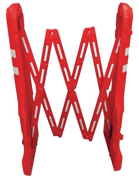 Barrière extensible transportable et lestable de 2,25m