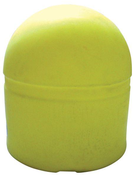 Borne de voirie lestable jaune à grand diamètre
