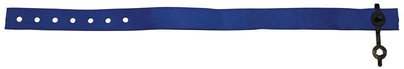 Bracelets d'identification indéchirables en tissu polyester