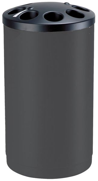 Collecteurs de gobelets en polyéthylène noir