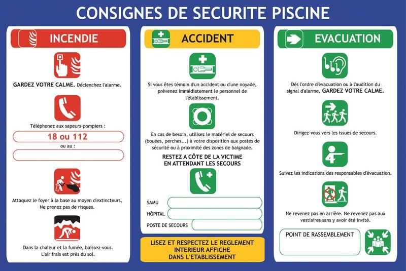 Consignes de s curit la piscine seton fr for Securite enfant piscine
