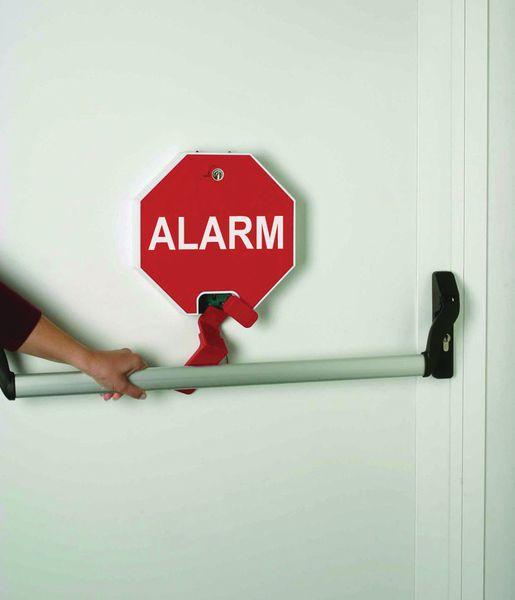 Alarme de porte pour barre anti panique seton fr - Porte anti panique ...