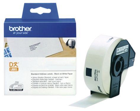Etiquettes pour imprimante thermique Brother