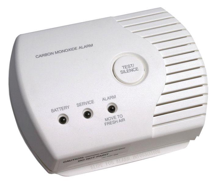 Détecteur de monoxyde de carbone avec bouton test