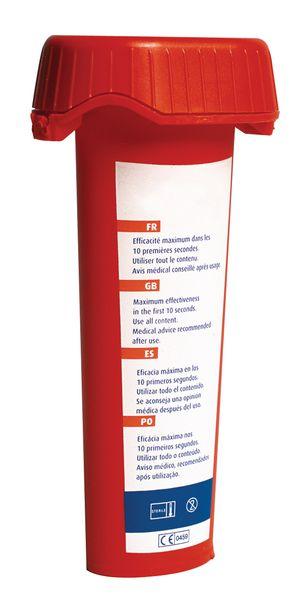 Dose de rinçage oculaire pour projection chimique à la diphotérine