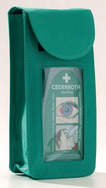 Etui individuel d'urgence de lavage oculaire