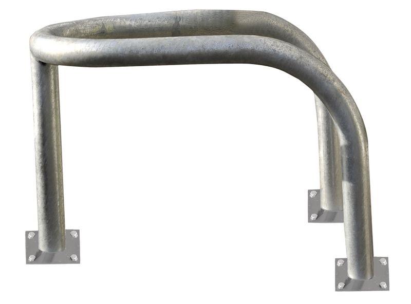 Etrier de protection en acier galvanisé