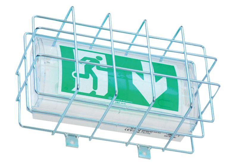 Grilles de protection pour blocs autonomes d'éclairage de sécurité