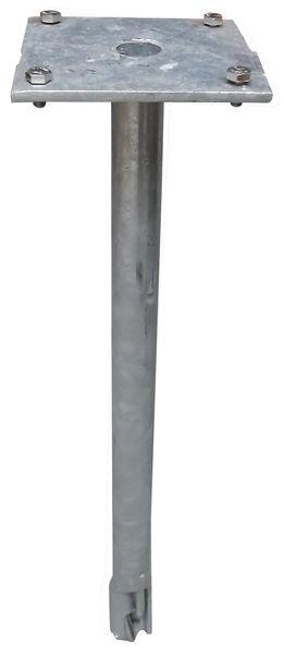 Ancrage mécanique pour fixation de poteaux