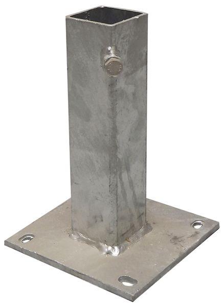 Fourreaux à platine pour fixation de poteaux  Seton FR