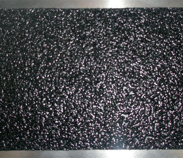 lot de 3 plaques antid rapantes noires en aluminium 2 1. Black Bedroom Furniture Sets. Home Design Ideas