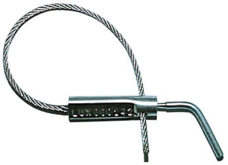 Scellé câble à vis auto-cassante